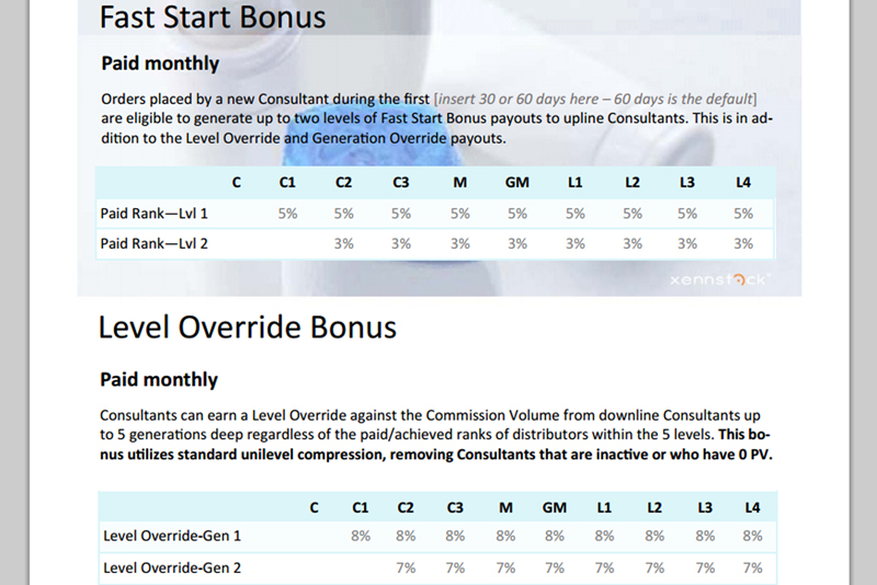 incentive compensation plan template
